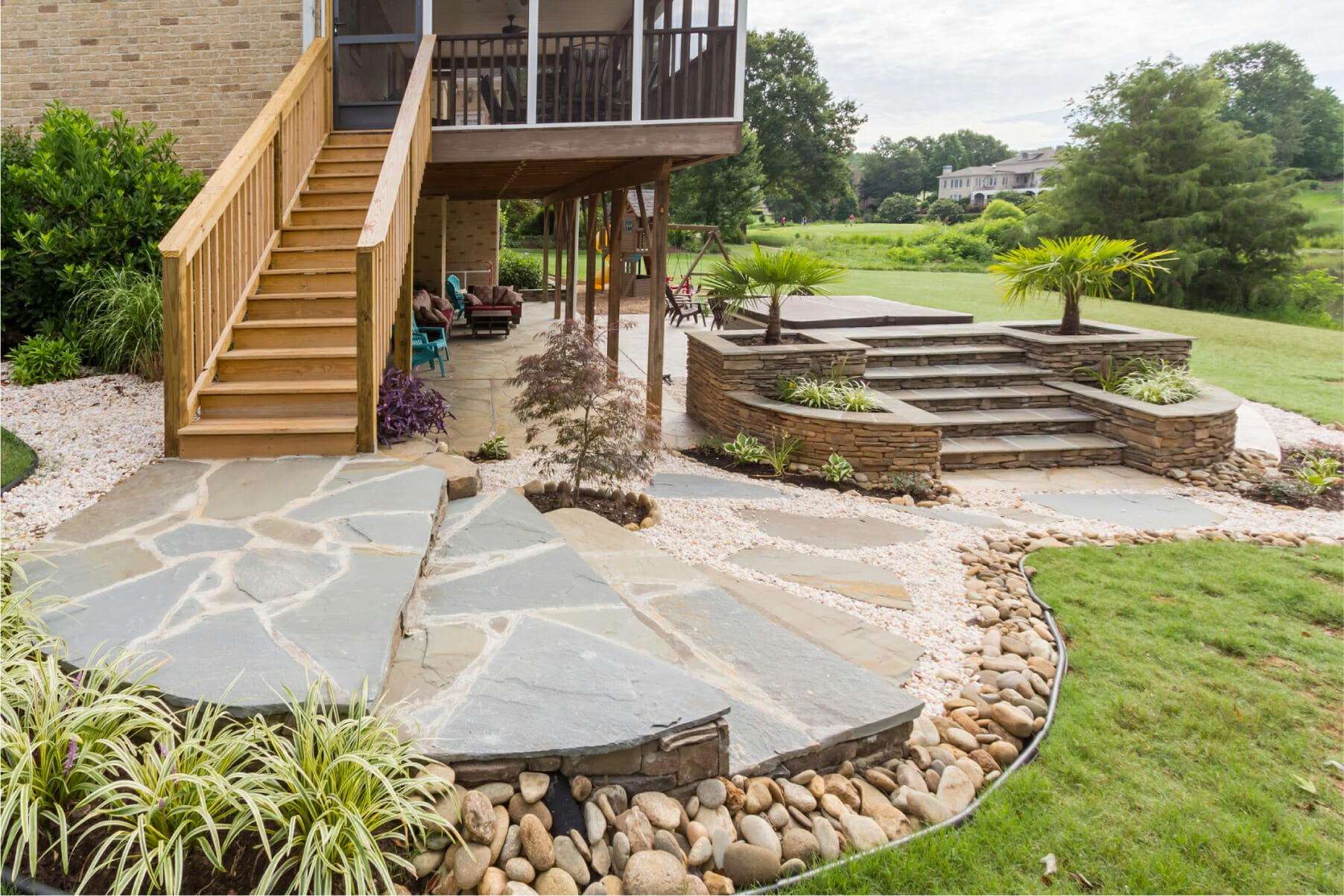 Outdoor Living Spaces • Unique Concrete Design LLP ... on Fancy Outdoor Living id=33661